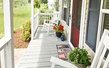 the easiest way to clean your front porch this summer