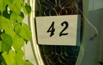 a new house number for my house
