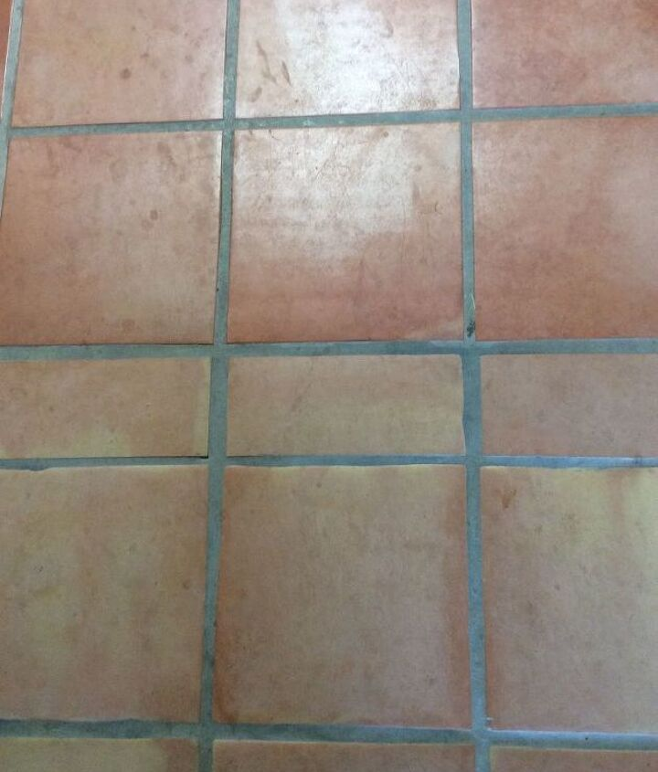 q how is the best way to deep clean and reseal saltillo tile floors