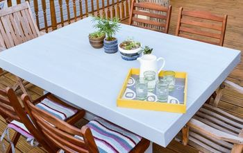 transform your old shed into a garden table