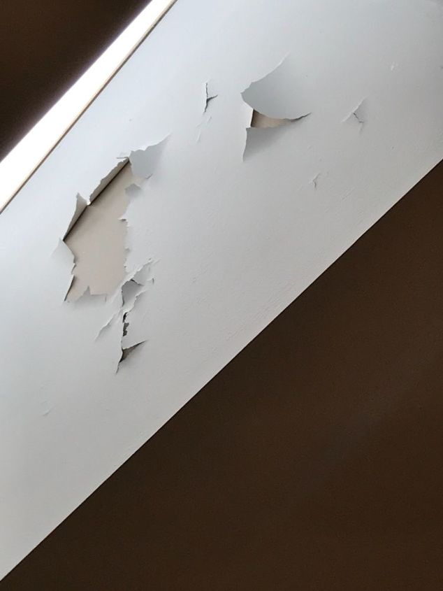 q how do i find out why skylight paint peeled