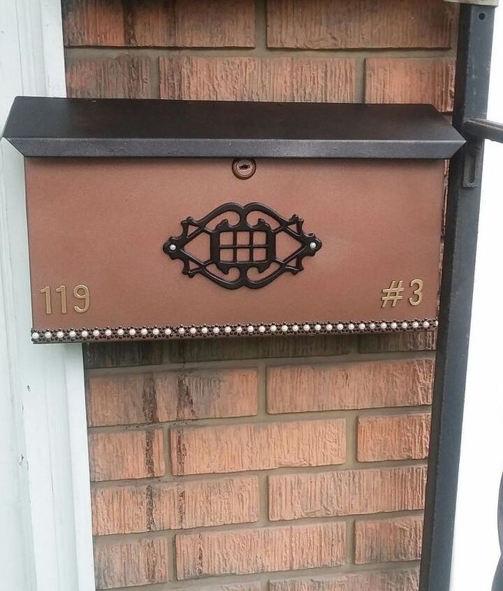 mailbox redux with a secret message for the mailman