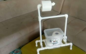 diy pipette made toilet paper holder stand