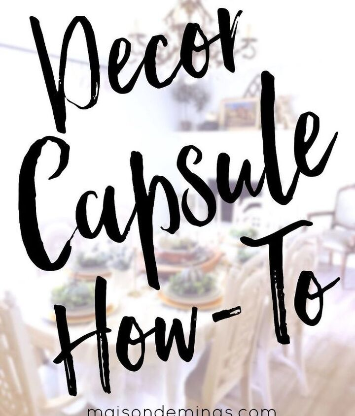 Decor Capsule How-To