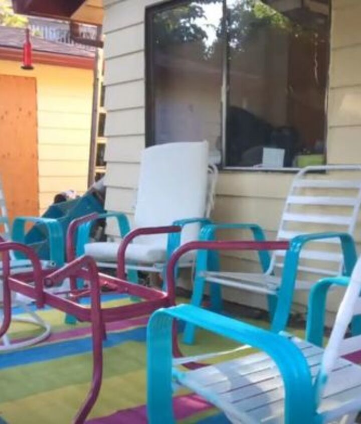 upcycle standard patio furniture