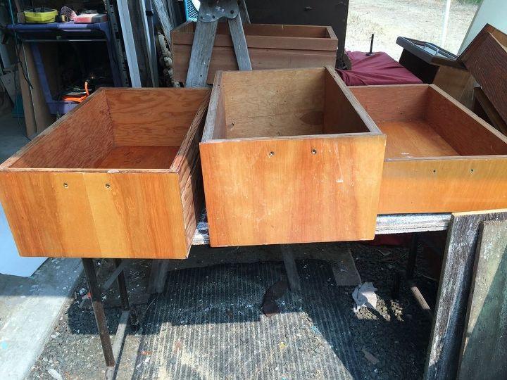 Wooden Rolling Cart Hometalk