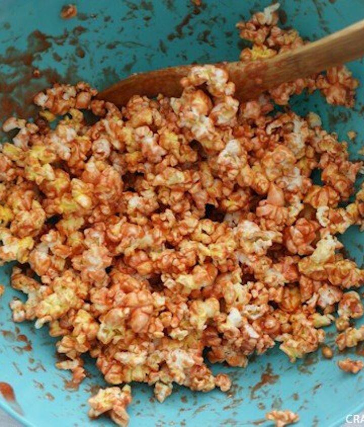 eye popping popcorn balls
