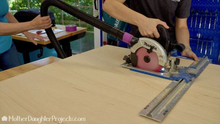 how to build storage for scrap wood of all sizes