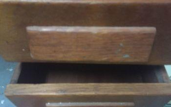 q hi i have this older possible antique desk that i m going to re design