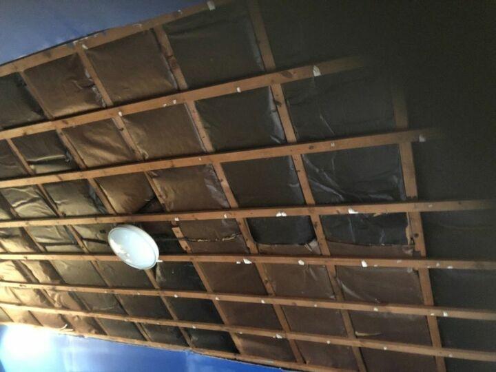 q how do i put up a ceiling cheaply
