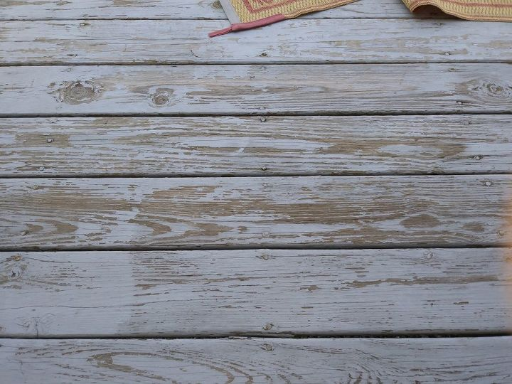 q how can i seal my deck as is