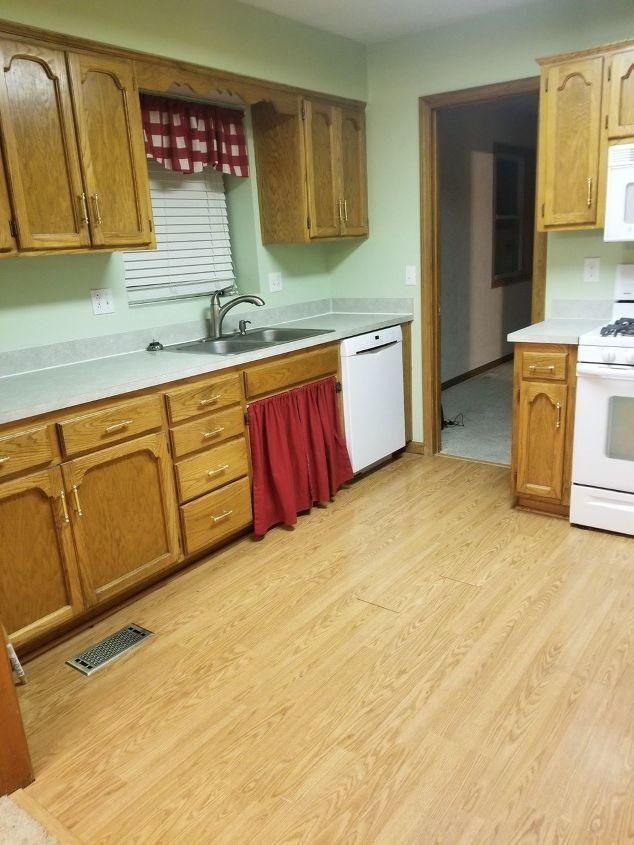 q needing a creative cabinet door replacement