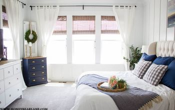 Farmhouse Master Bedroom Reveal