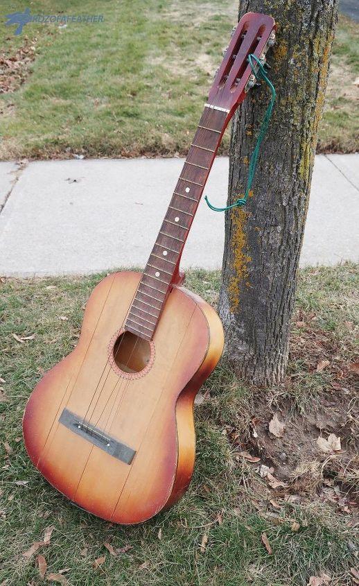 guitar planter