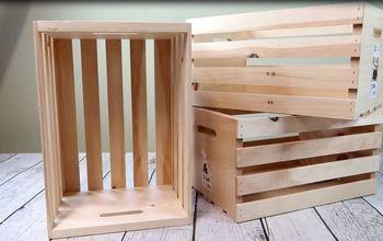 3 wooden crates cool locker
