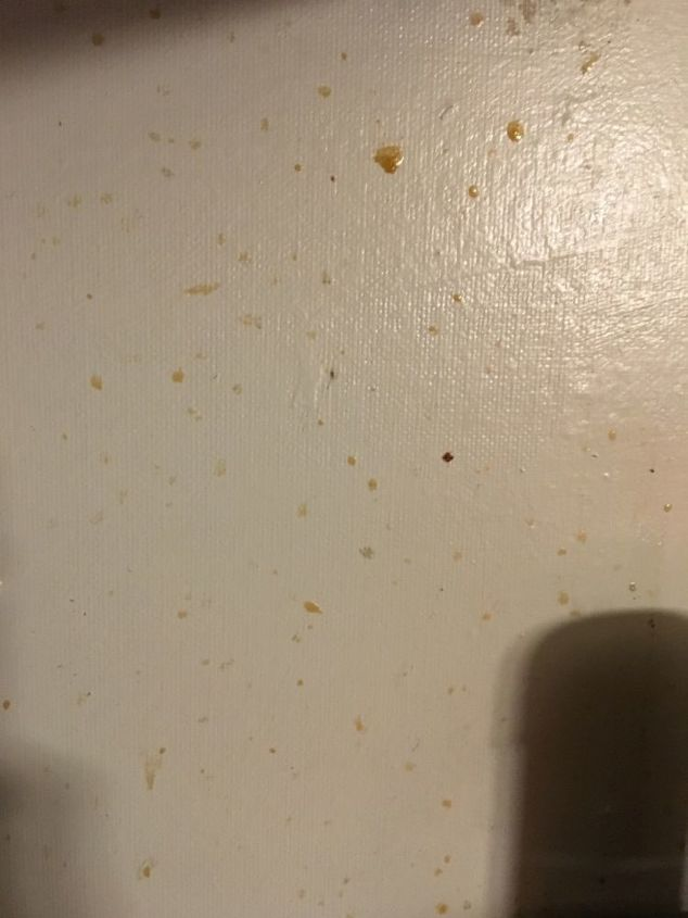 q how to clean grease so i can apply wallpaper