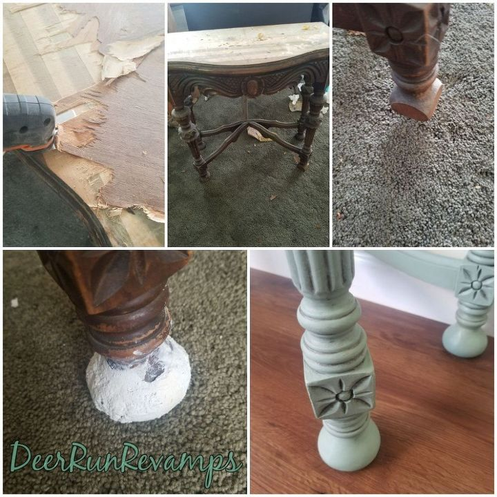using bondo to make new feet