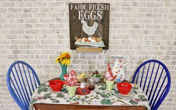 create five stenciled farmhouse signs from one pallet