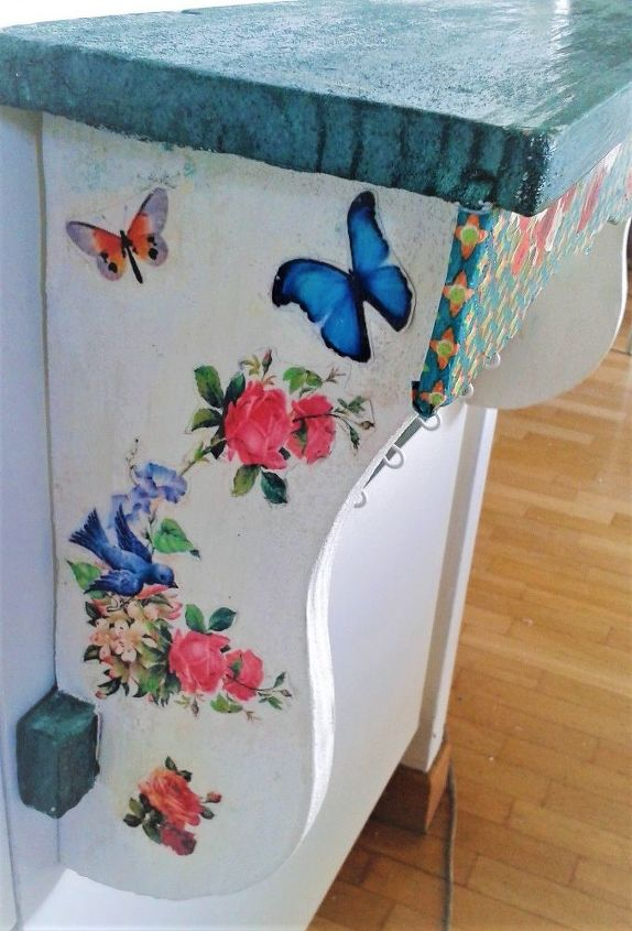 An Old Kitchen Shelf, Became a Beautiful Wall Shelf With ...