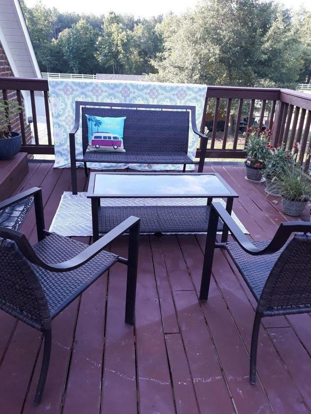 privacy on the balcony or deck free