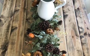 DIY Fall Farmhouse Inspired Tablescape