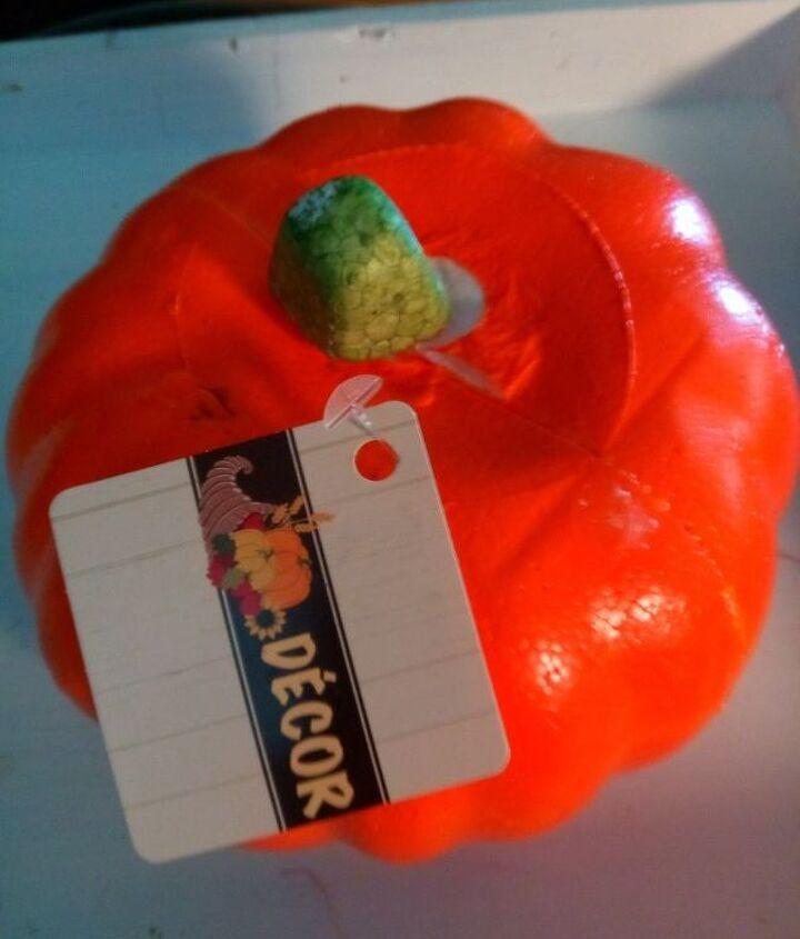 pumpkin flower pot