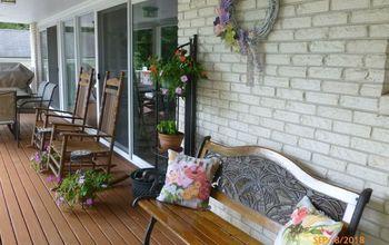 transitioning my veranda into fall