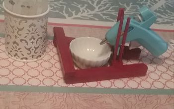 glue gun stand, All done and ready to glue