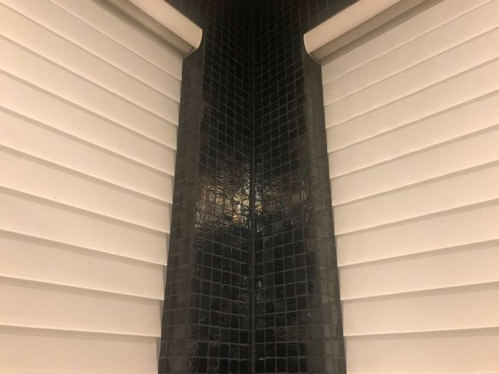 Paint Over Glass Uneven Mosaic Tile, Can You Paint Over Glass Tile