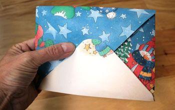 super easy diy envelopes