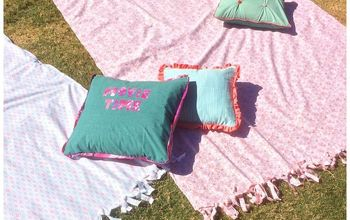 Outdoor Blanket From $5 Bed Sheet