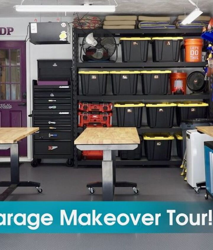 room reveal garage makeover