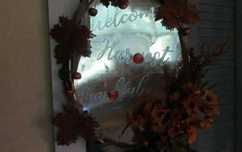 a wreath i am truly thankful for