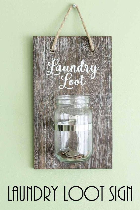 laundry room change jar