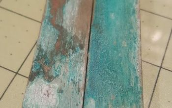 DIY Quick and Easy Force Patina on Most Metals