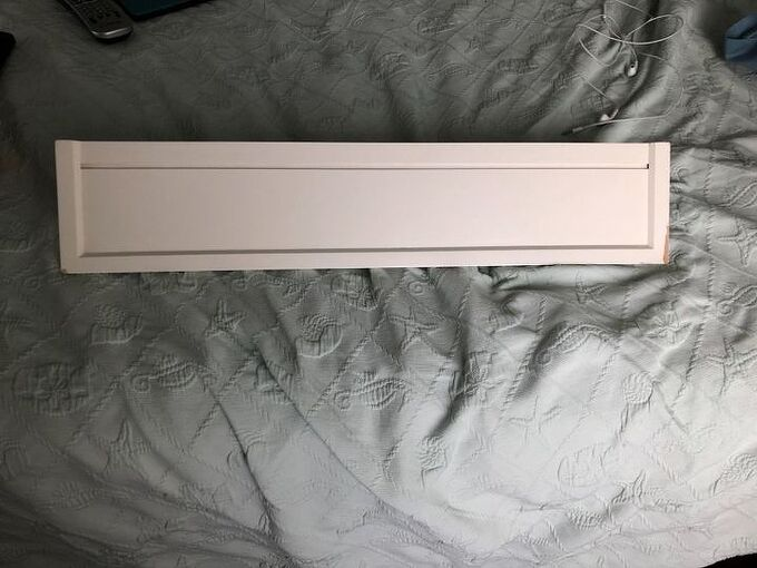 q how do i attach this type of key hole shelving