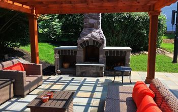 Outdoor Fire Feature and Living Area