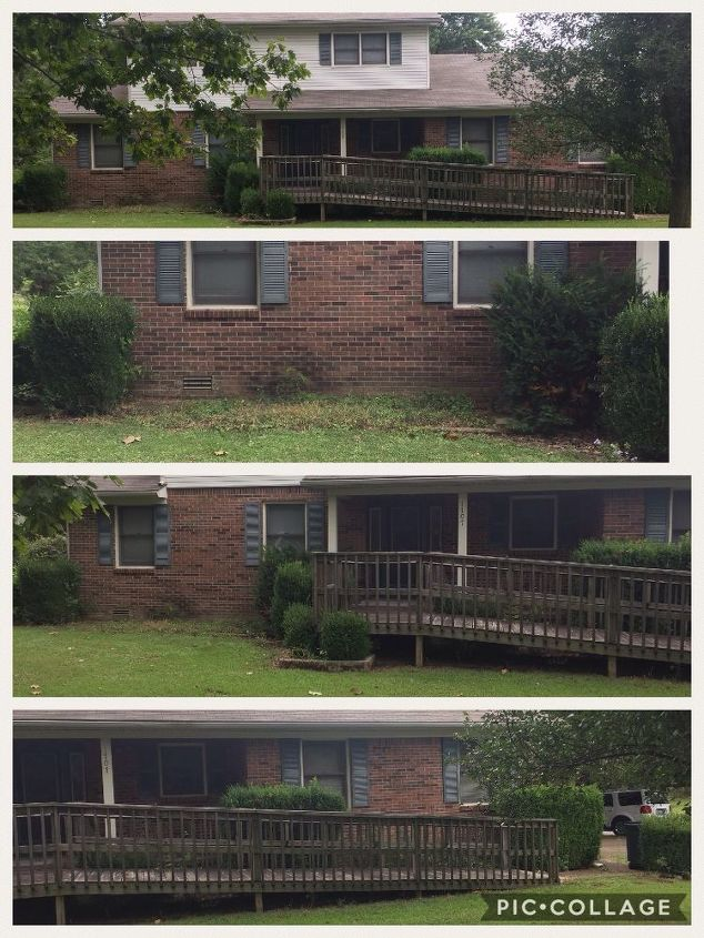 q how to update curb appeal
