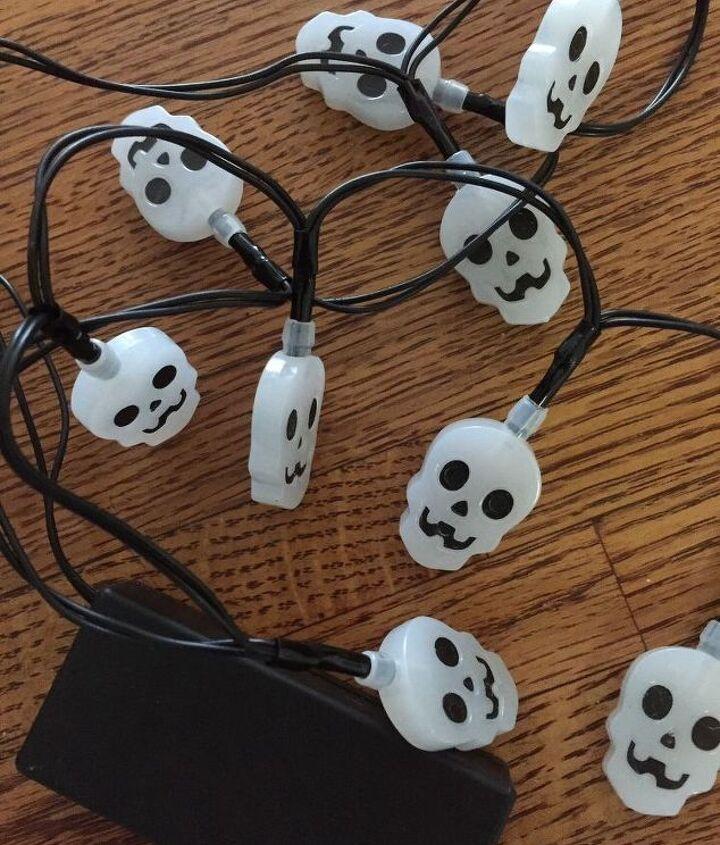 Dollar Tree Skull Lights