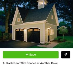 Here Are Some Pinterest And Houzz Photos Of Houses With Black Garage They Look Beautiful Not Like Holes