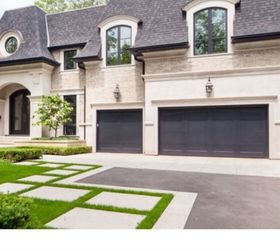 Here Are Some Pinterest And Houzz Photos Of Houses With Black Garage And  They Look Beautiful, Not Like Black Holes!