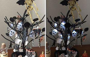 Halloween Tree From Jewelry Organizer