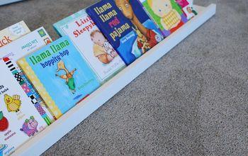 diy 3 board book shelf