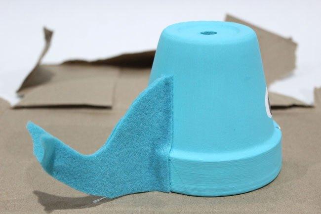 blue whale air plant holder