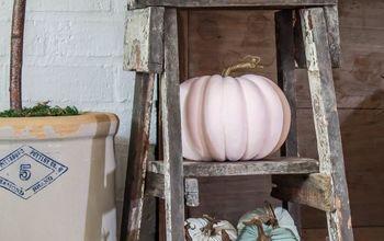 diy fall decor pumpkin sign