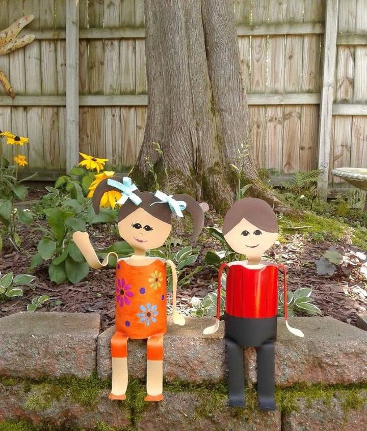 diy pvc pipe people