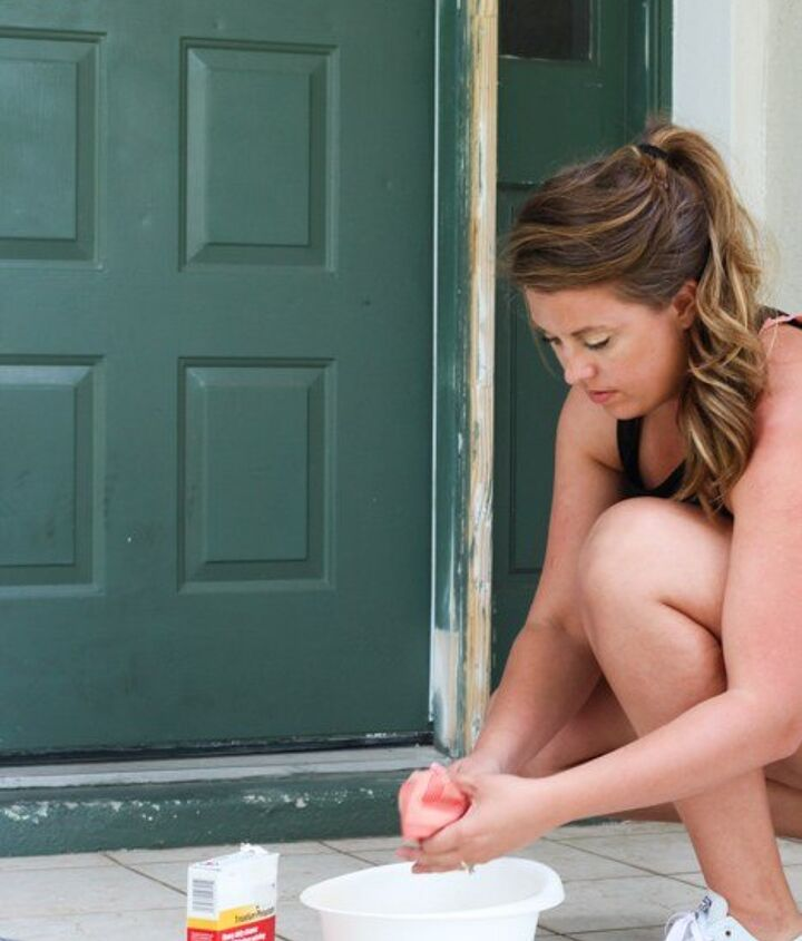 giving your front door a makeover with paint