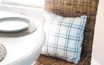 create no sew pillows from cotton napkins