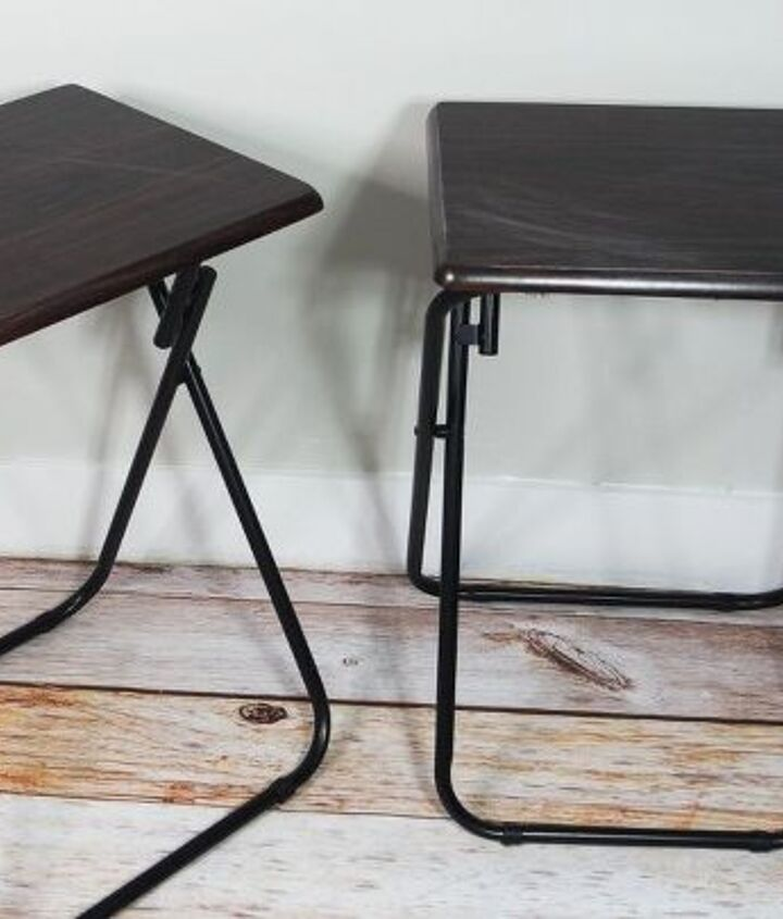 how to makeover a tv tray