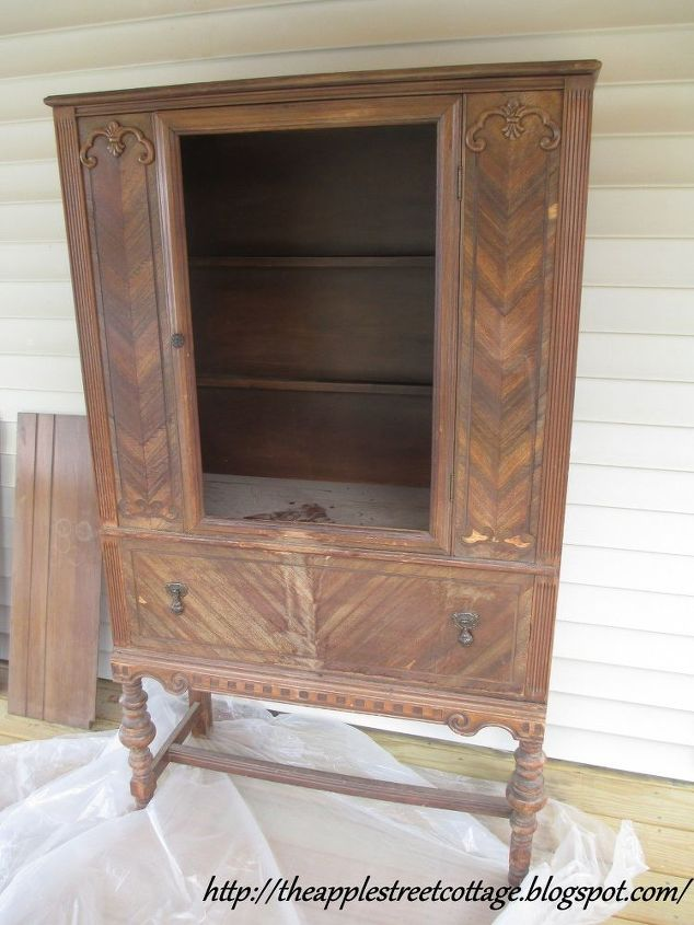 the water logged china cabinet